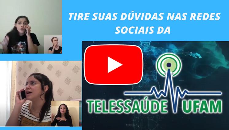 Tire suas dúvidas nas redes sociais da Telessaúde UFAM